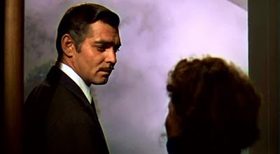Clark Gable saying Frankly my dear I don't give a damn in Gone with the Wind movieloversreviews.blogspot.com
