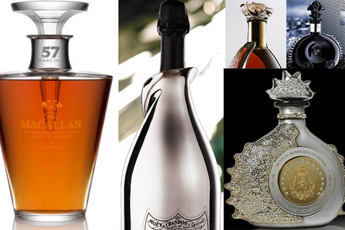 Luxury life design beautiful and unique bottles for for Most beautiful wine bottles