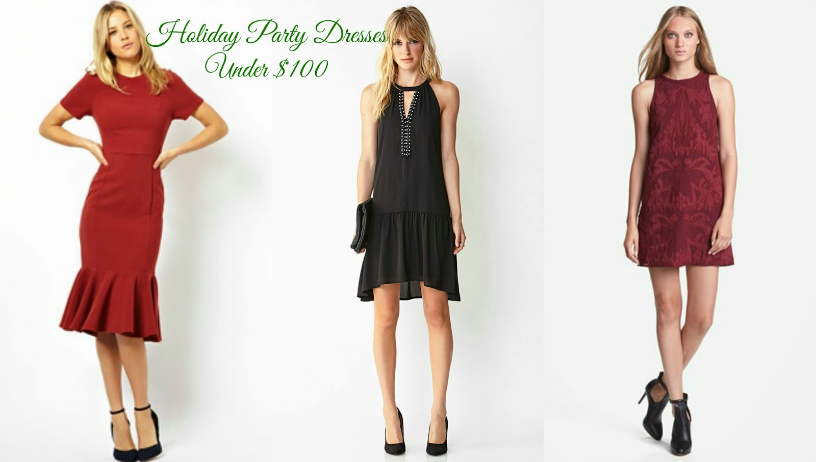 9 Holiday Party Dresses Under $100 - Baby Shopaholic