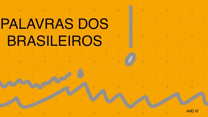 PALAVRAS DOS BRASILEIROS