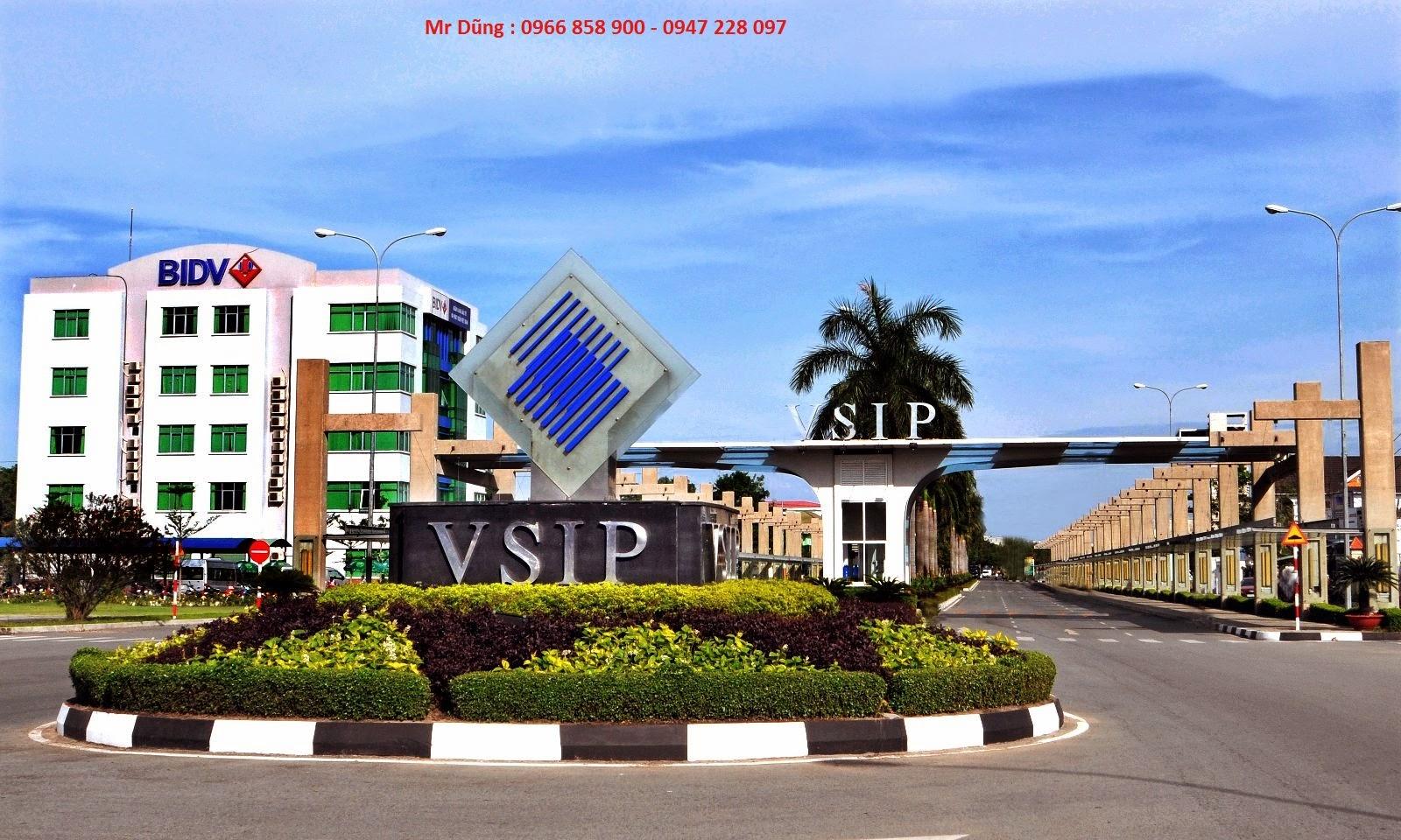 Bán đất nền VSIP giá gốc chủ đầu tư BECAMEX ảnh 1