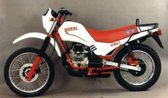Moto Guzzi V35 TT Motorcycle