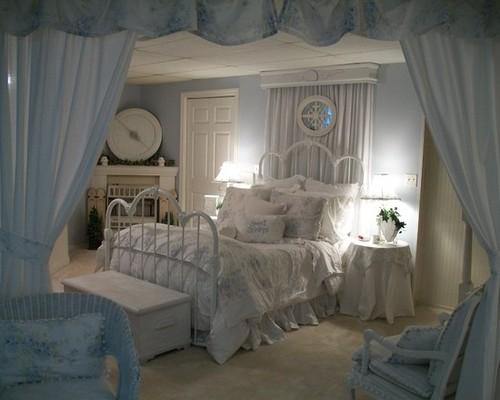 Dainty little moonbeams slaapkamer inspiratie - Volwassen kamer schilderij idee ...