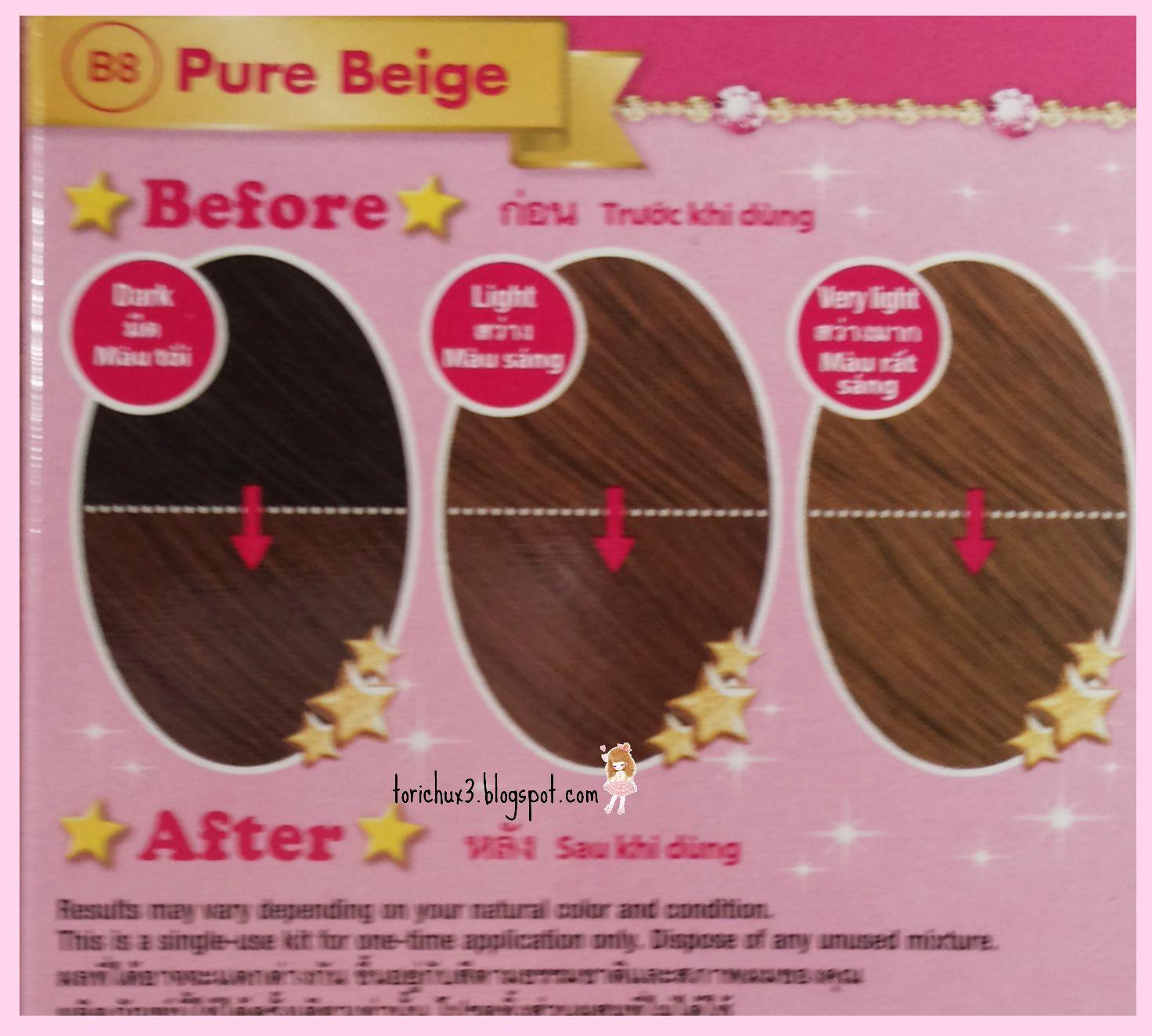 Tori Chu Review Beautylabo Hair Color Kawaii Beauty