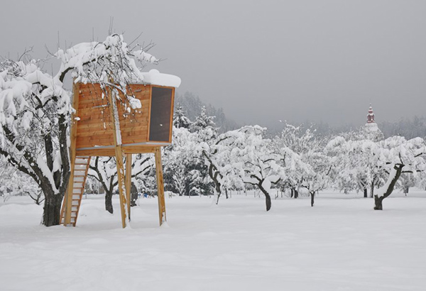 Free Standing Tree House