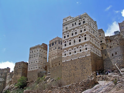 You'll Have  to Postpone Seeing Yemen's Mud Skyscrapers Until The Revolution Is Over
