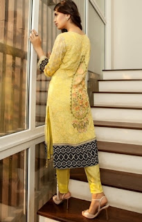 Baroque Embroidered Chiffon Eid ul Azha Collection 2015