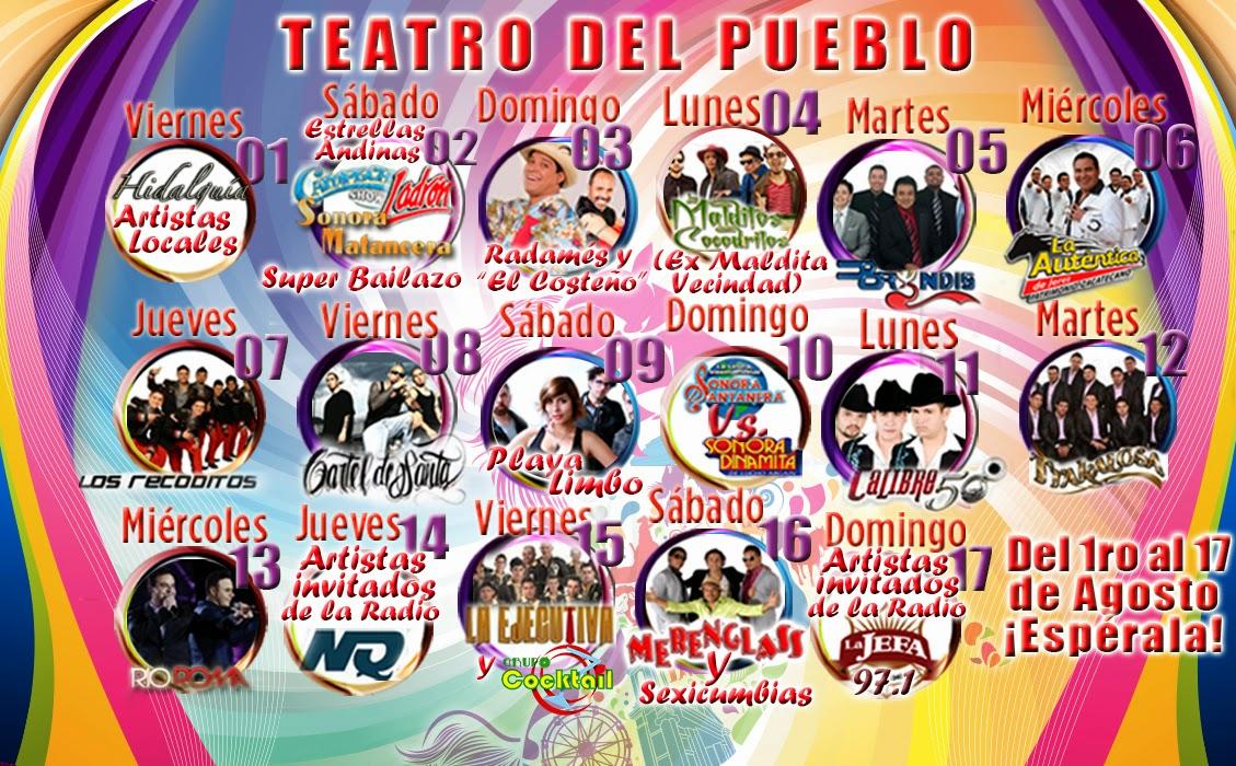 Expo Feria Tulancingo 2014 Teatro del Pueblo
