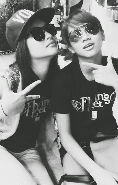 Foto keren Devi Kinal Putri dan Shania