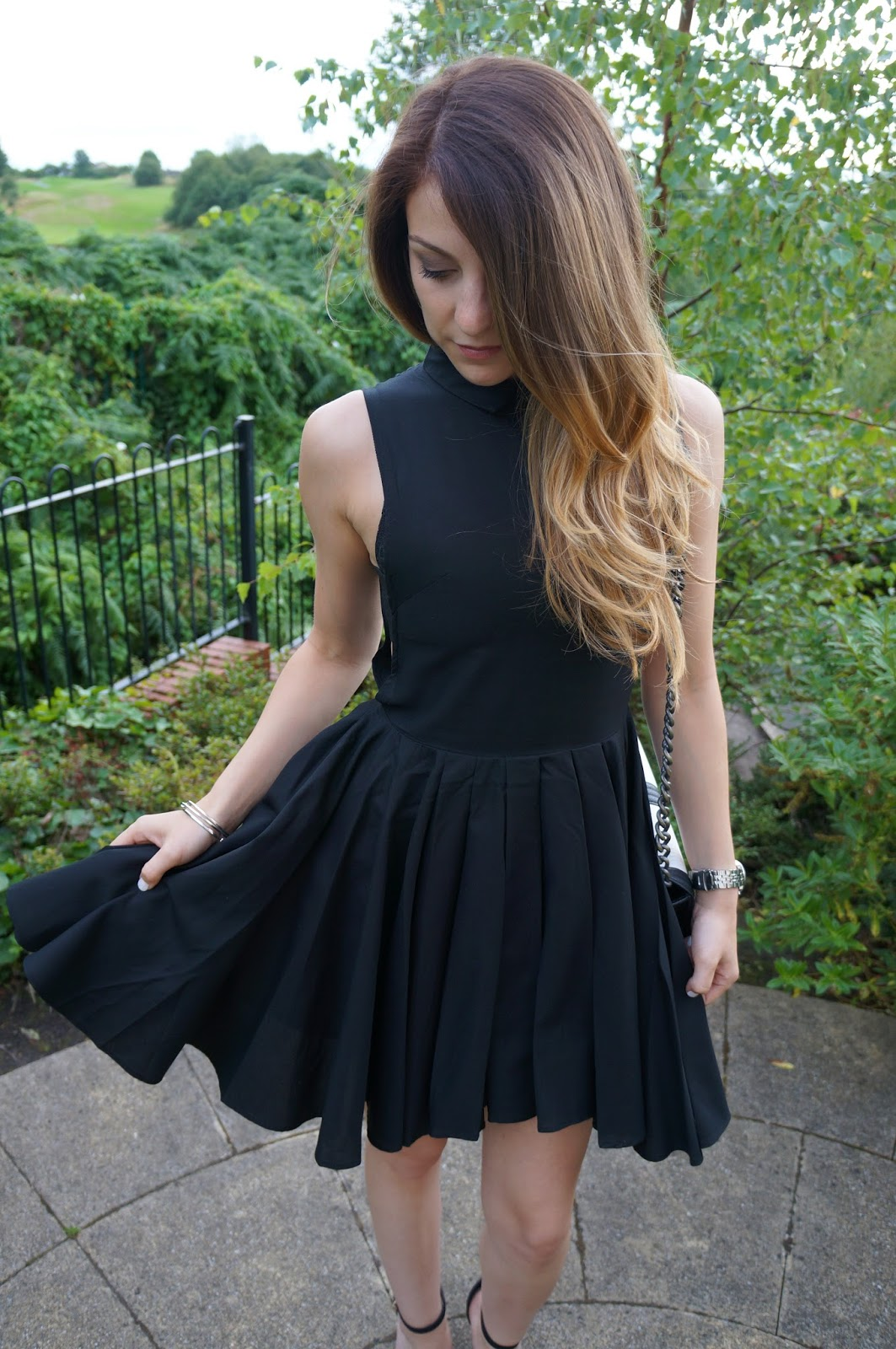 LBD gorgeousness from H&M with a full skirt