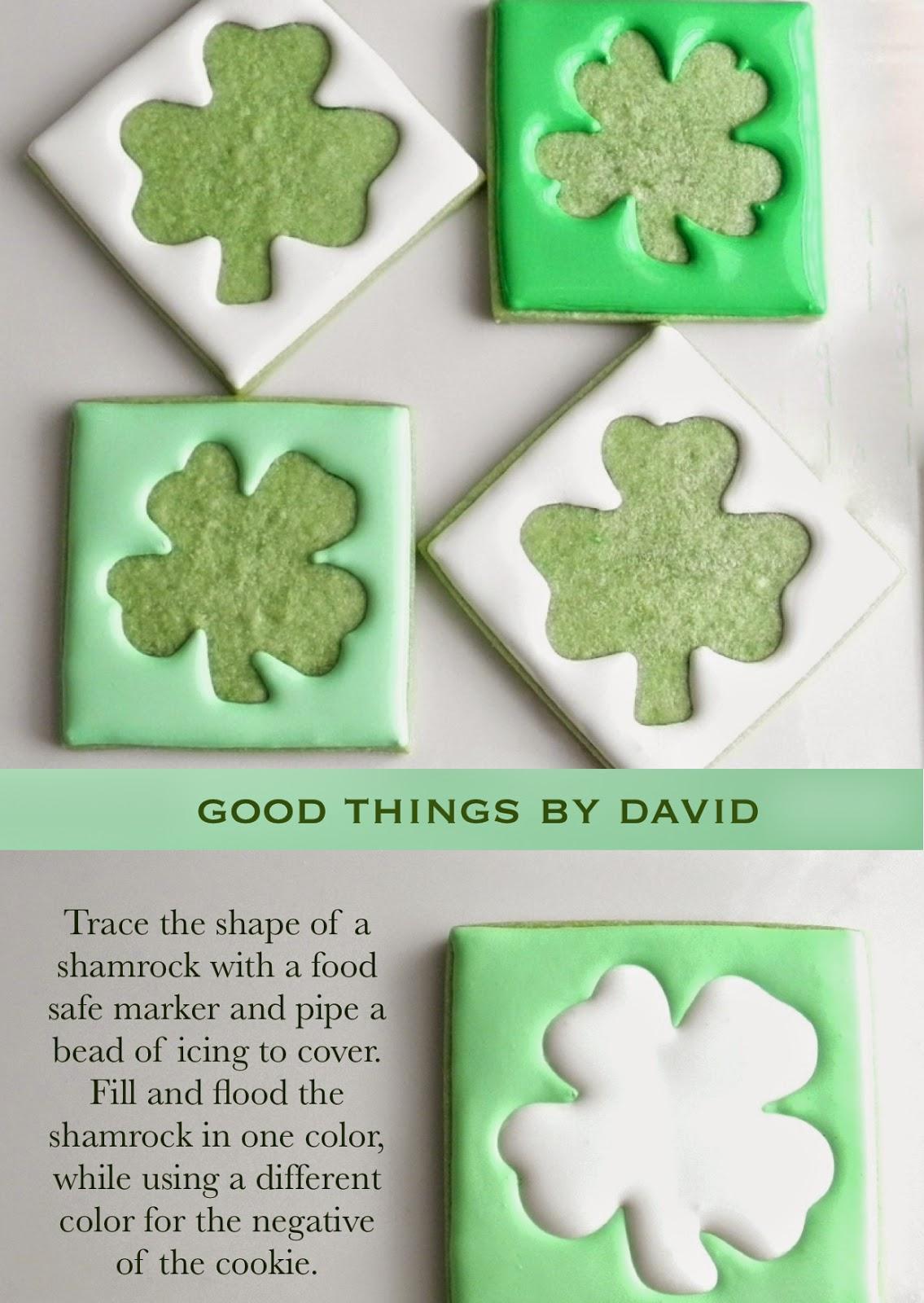 good things by david st patrick u0027s day cookies