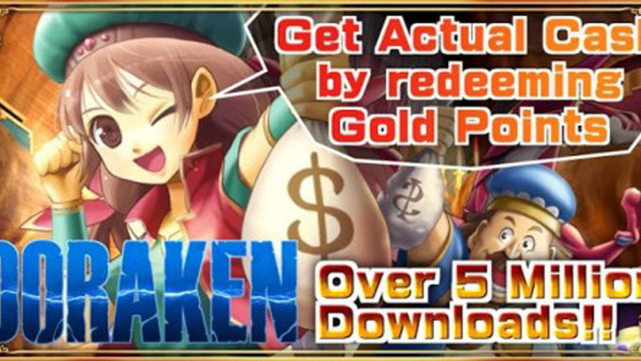 Cash Reward RPG DORAKEN English Gameplay Android