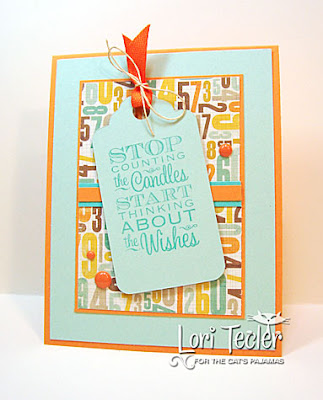 Stop Counting the Candles card-designed by Lori Tecler/Inking Aloud-stamps from The Cat's Pajamas