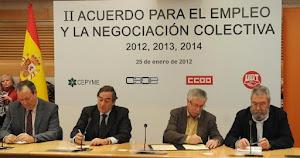 PUBLICADO EN EL BOE LA VERGONZOSA CLAUDICACION DE CCOO Y UGT ANTE CEOE