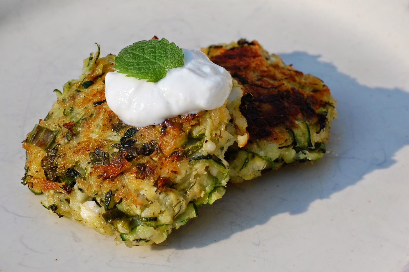 KELSIE'S KITCHEN: Zucchini Keftedes with Feta and Dill