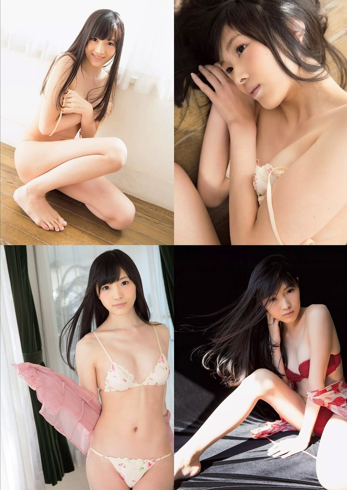 Takeuchi Ami たけうち亜美 Weekly Playboy April 2015 Photos 2