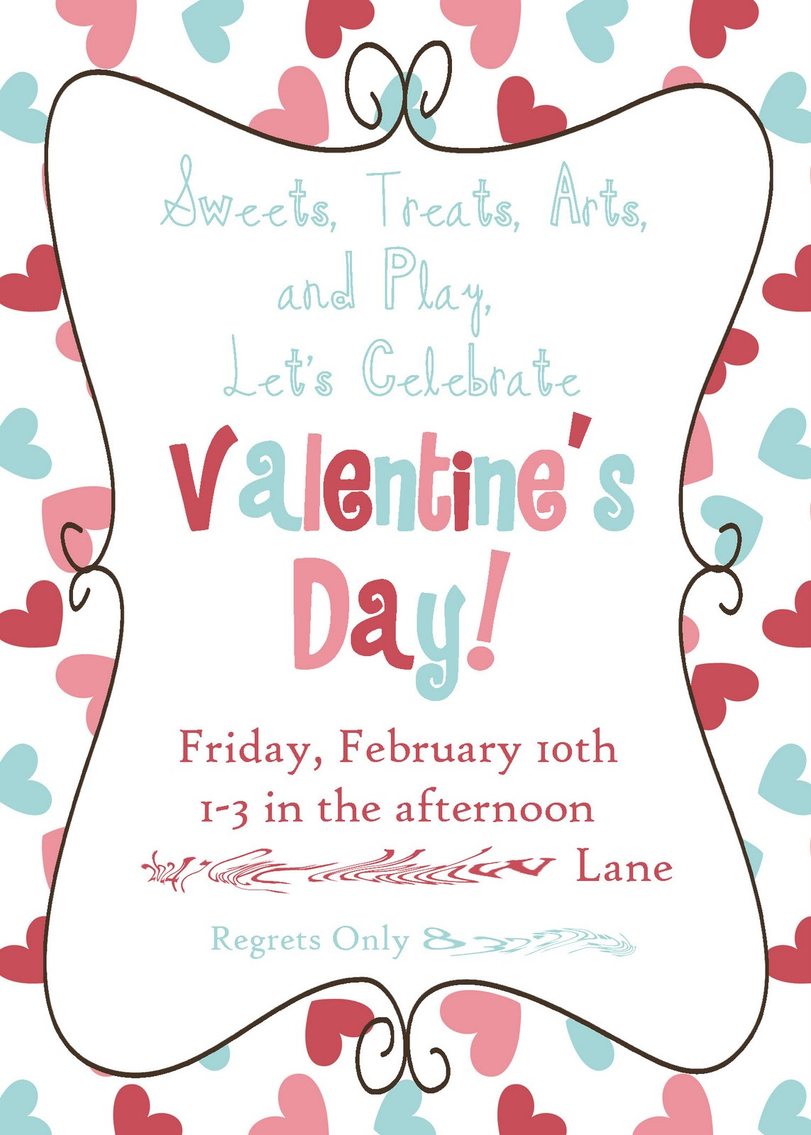 Crafting Mama: Valentine\'s Party