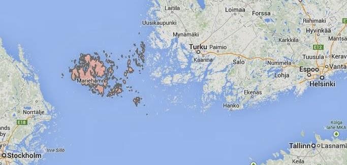 Curacao Gambling Hosting Online Gambling Jurisdictions Aland - Aland islands world map