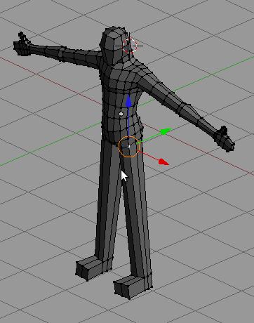 tutorial modeling karakter manusia simpel 11