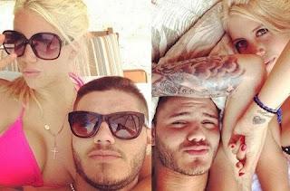 Icardi compartilhou, em seu Instagram, diversas imagens do período de descanso com a família. Ele está acompanhado de Wanda e os enteados, filhos de Maxi, além de Francesca, primeira herdeira fruto do casamento com a maria-chuteira.