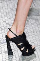 Високи летни обувки с трапецовиден ток на Proenza Schouler