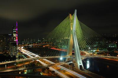 Sao Paolo, Brazil Octávio Frias de Oliveira Bridge