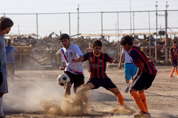 Military News - In Baghdad, a $1.1M US-funded soccer field turns to dirt
