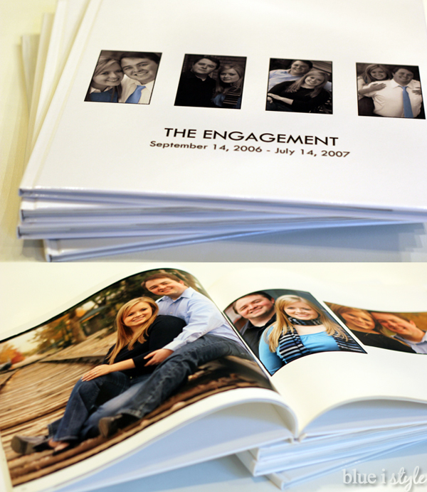 Engagement Photo Book
