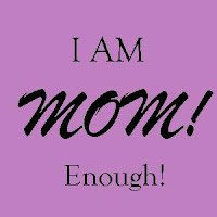 I Am Mom! Enough! Carnival button