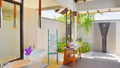 Amari Havodda Maldives 海灘泳池別墅-浴室