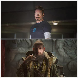 Tony Stark and The Mandarin