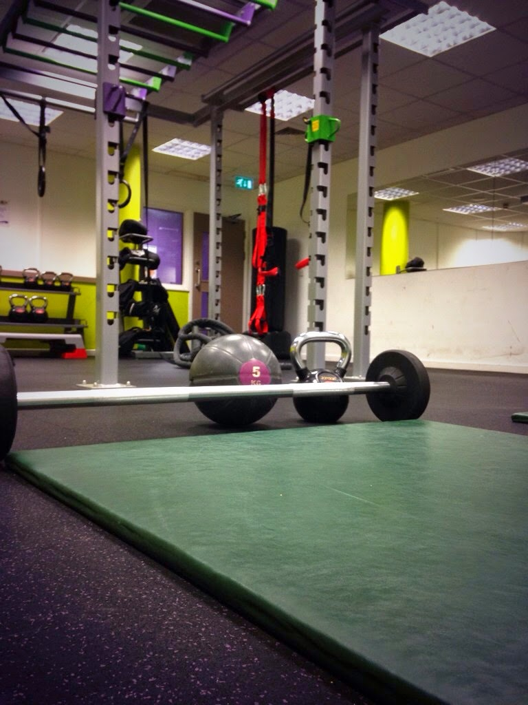 King Alfred gym - weights area