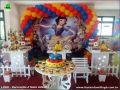 Branca de Neve - tema de mesa para decoração de festa de aniversário infantil de meninas - mesa decorada com tema infantil
