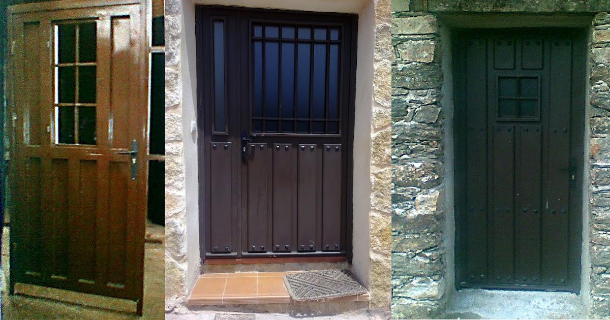 Cerrajeria jugal automatismos cerramientos de hierro de aluminio pvc mixta madera puertas - Puertas para cerramientos ...
