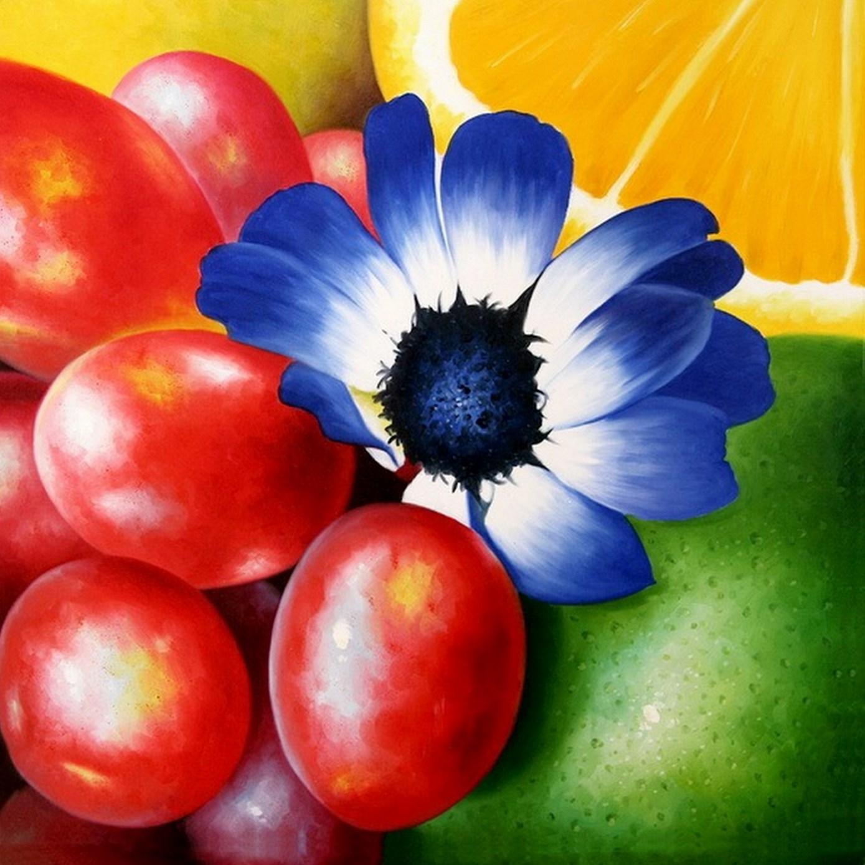 cuadros modernos pinturas y dibujos flores pinturas al