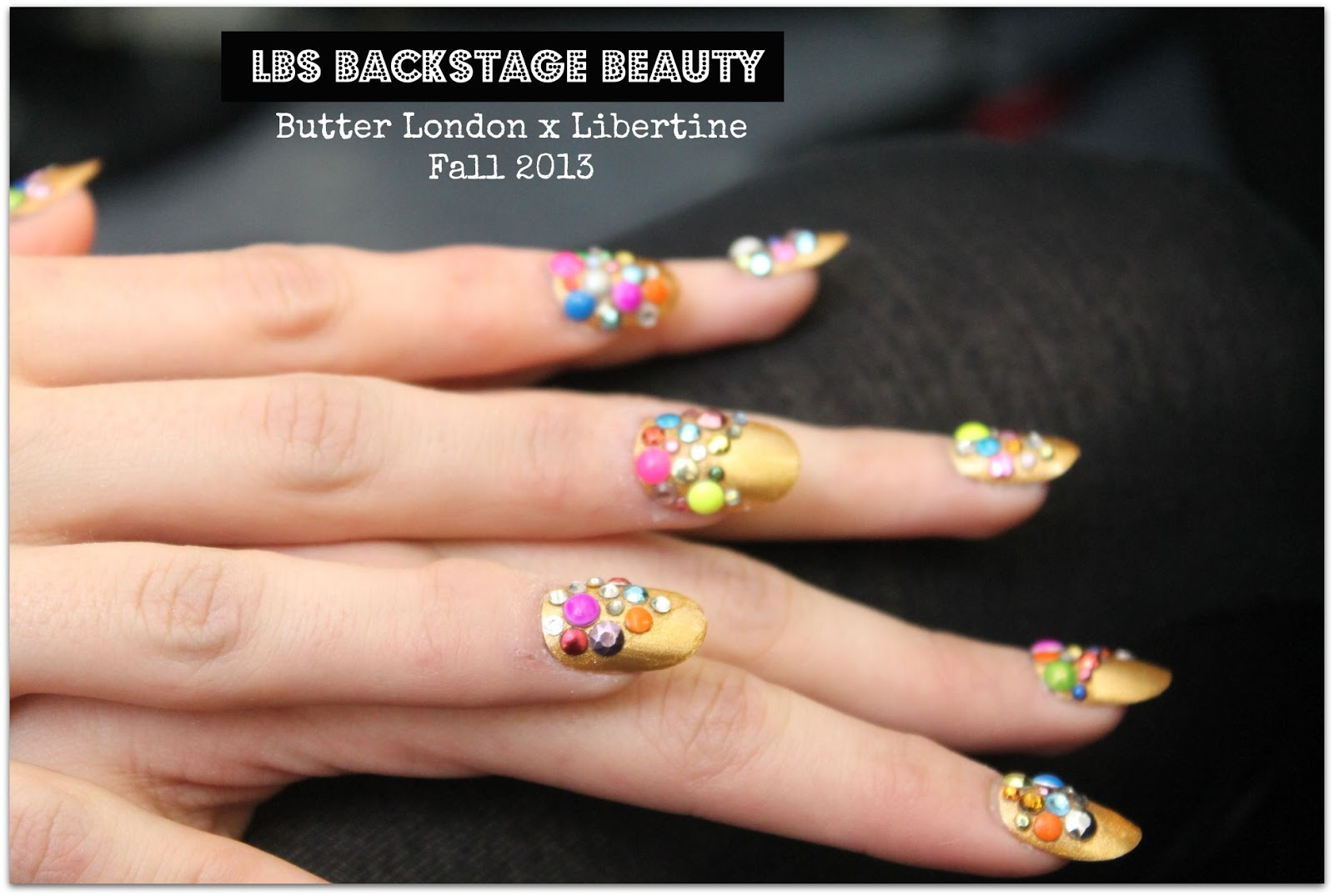 LBS Backstage Beauty: Butter London for Libertine Fall 2013 ...