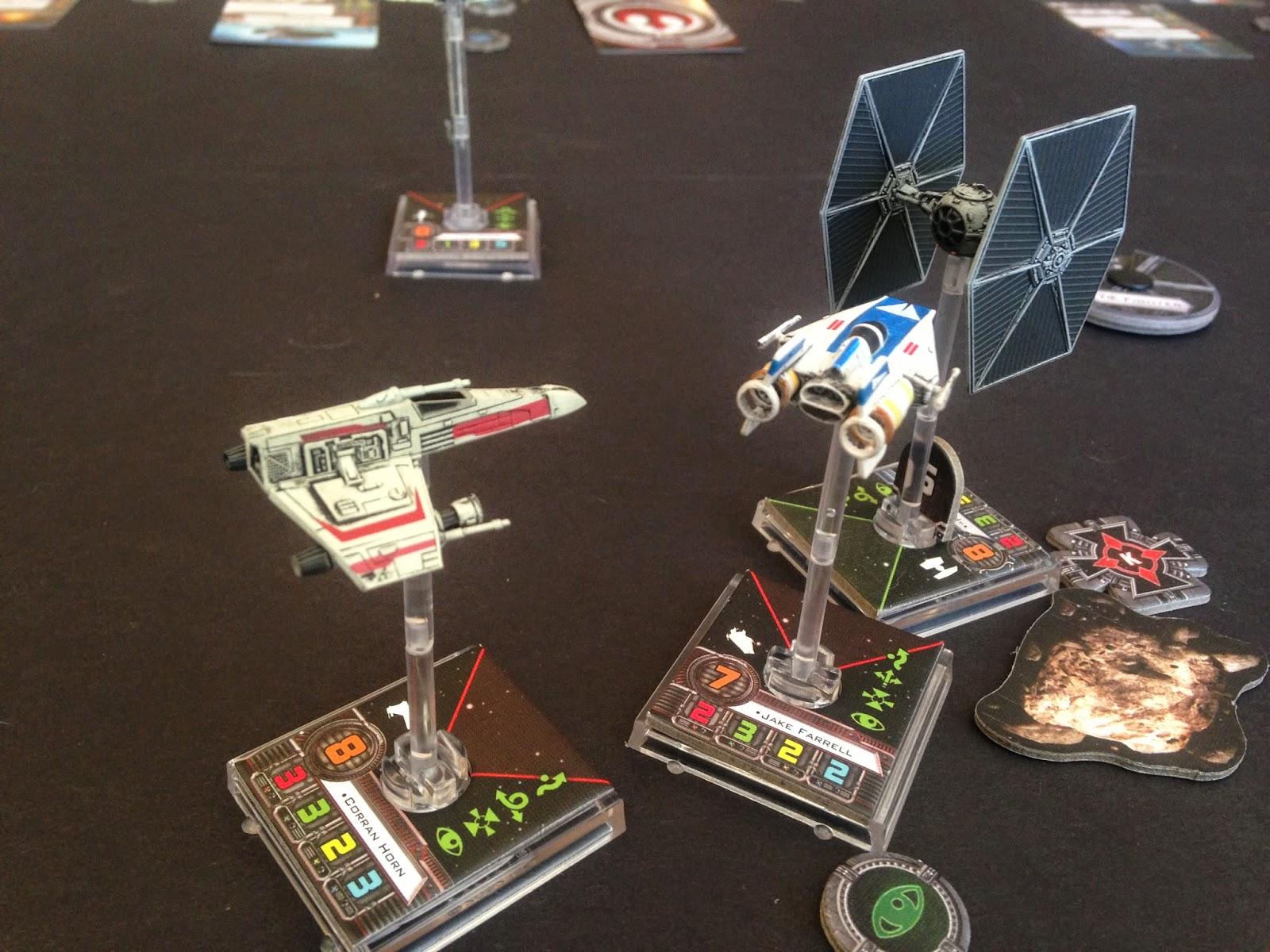 Beginning Star Wars X-Wing, Battle Gaming One