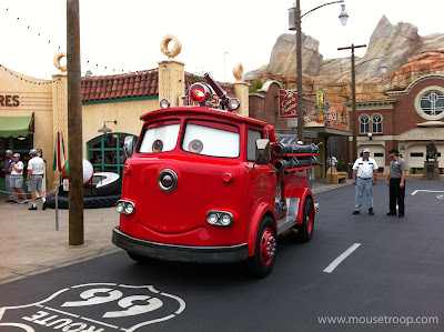 Red Fire Engine Cars Land truck
