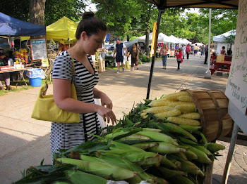 North Country Green Grocer Elise Stefanik Samples Corn