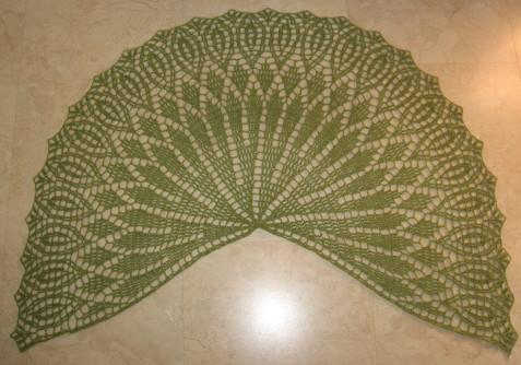 Crochet Pattern Half Circle Shawl : Half Circle Shawl Crochet Pattern images
