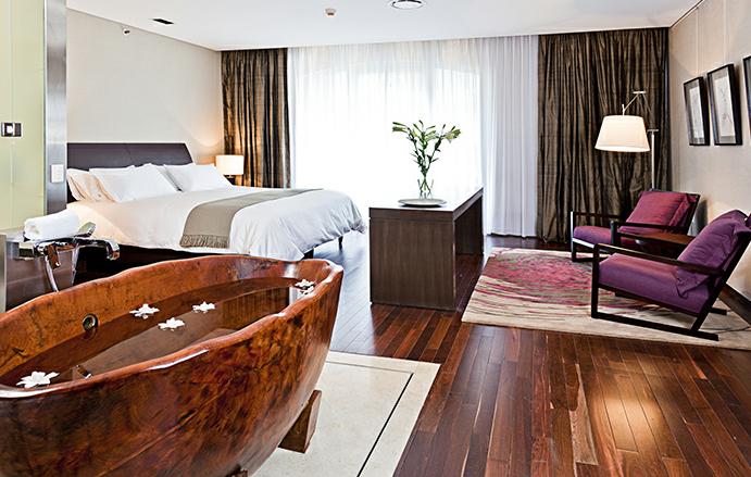 Vinho a tem tica de hotel de luxo da for Interieur forma buenos aires