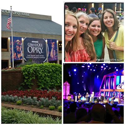 Visit to the Grand Ole Opry