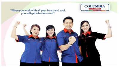 Lowongan Kerja Supervisor, Sales Counter Showroom dan Marketing Executive di PT Columbindo Perdana (Columbia) Cabang Yogyakarta