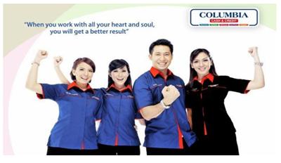 Lowongan Kerja Supervisor, Sales Counter Showroom dan Marketing Executive di PT Columbindo Perdana (Columbia) Cabang Yogyakarta