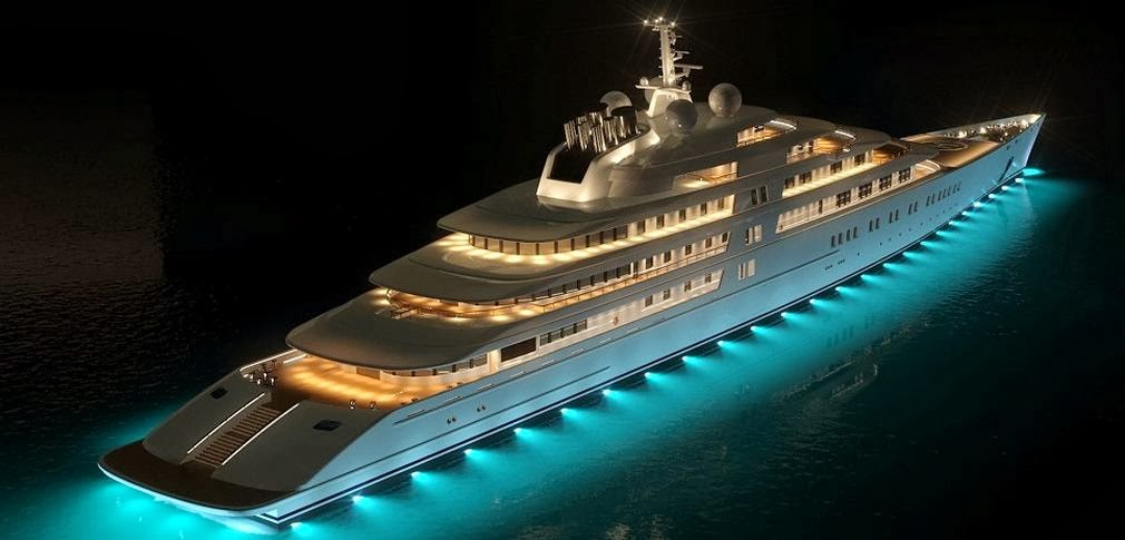 My luxury notebook azzam the largest private yacht in for Largest private boat
