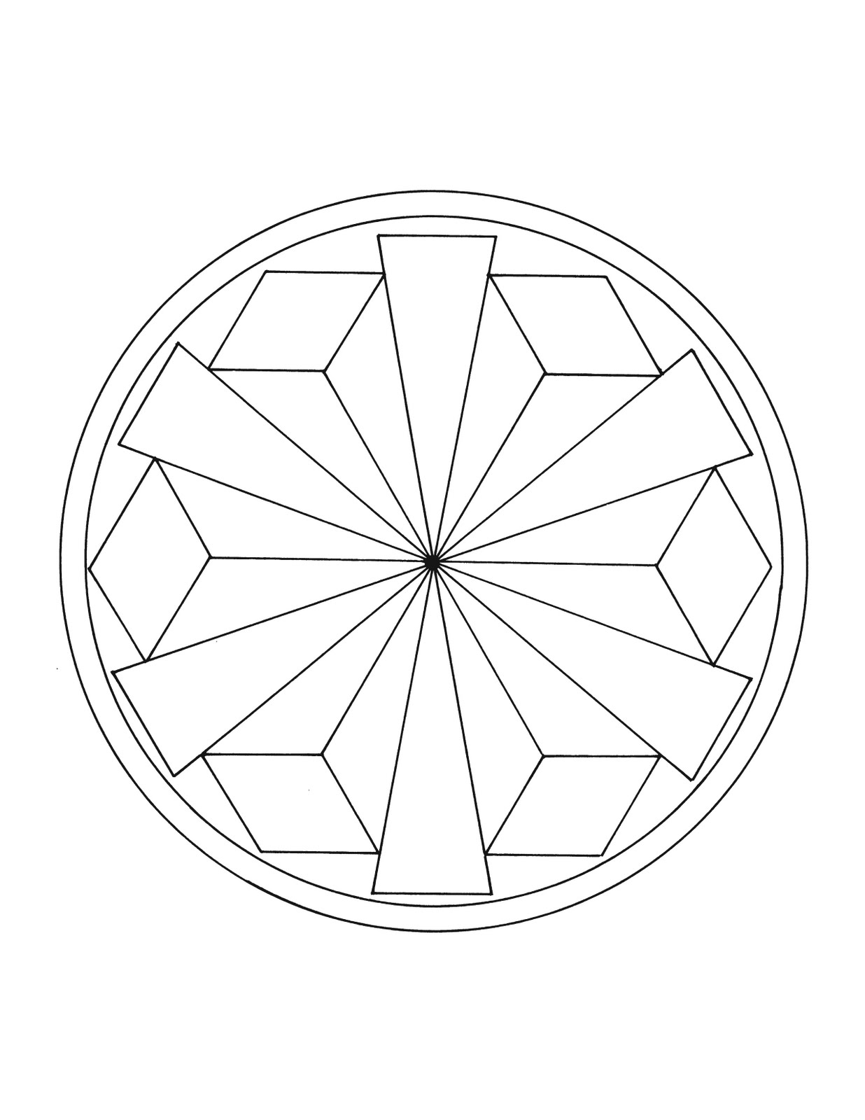 tibetan mandala coloring pages - photo#26
