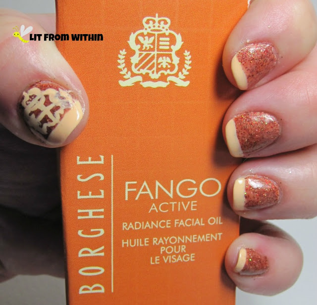 Borghese Fango-inspired mani