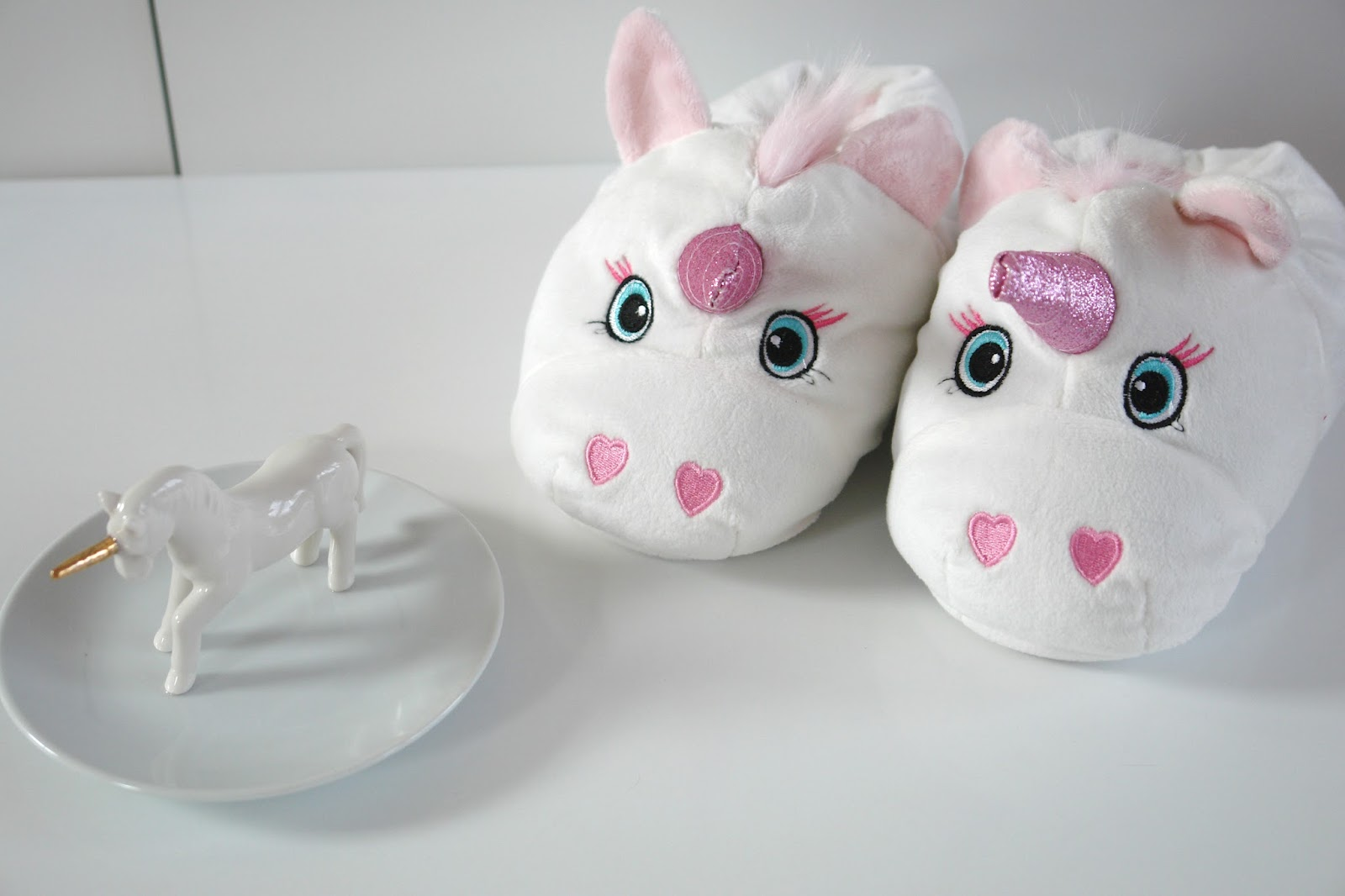 Little unicorn haul, Small Unicorn Jewellery Dish, New Look Unicorn White Slippers