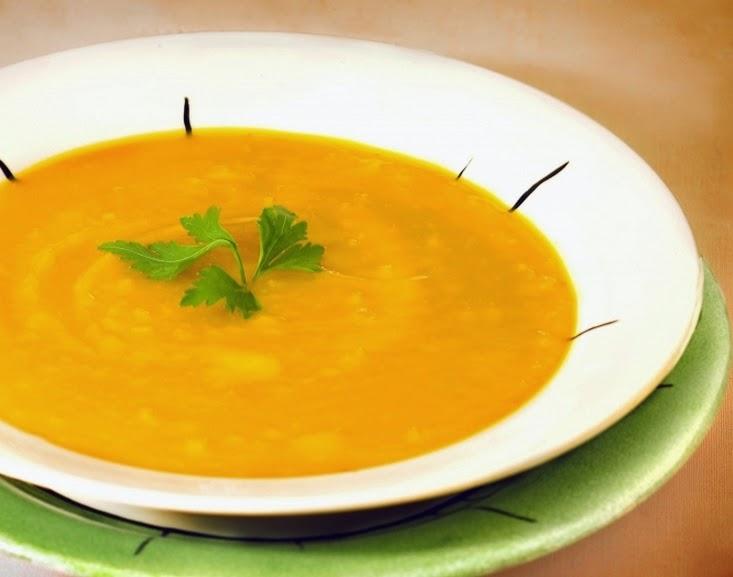 Sopa Creme de Abóbora (vegana)