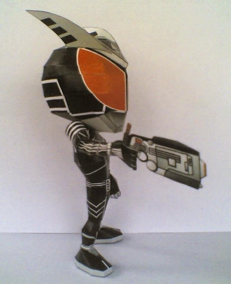 Kamen Rider Delta Belt AKaRiPap: Paper...